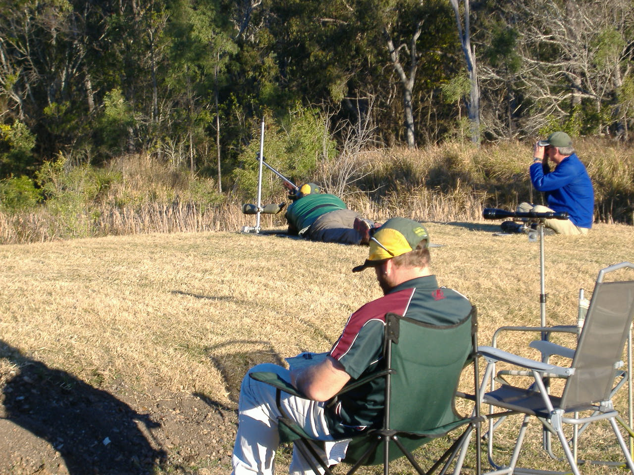 Ipswich rifle club members score for fellow shooters