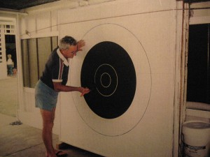 Eric Nunn making the targets