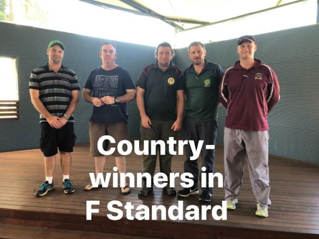 2019 City v Country - Country F-Std Winners