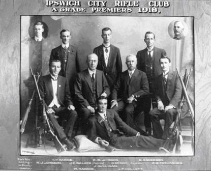 Ipswich city rifle club 1918