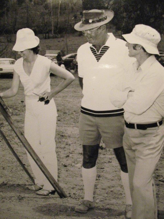 Lyn Rush, Eddie Moss, Bob Albion