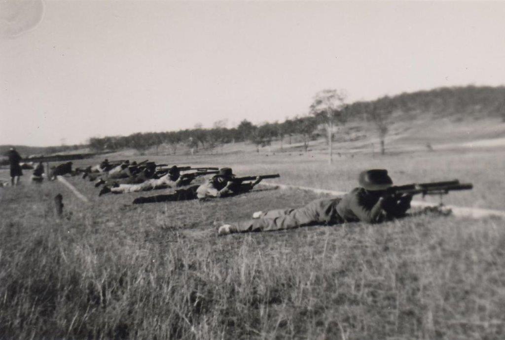 Redbank Rifle Range.