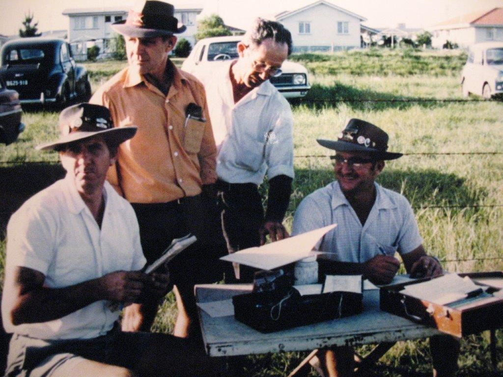 Ron Duce, Jim Rush, Joe Rush & Eric Nunn, Redbank Rifle Range, 500 yds