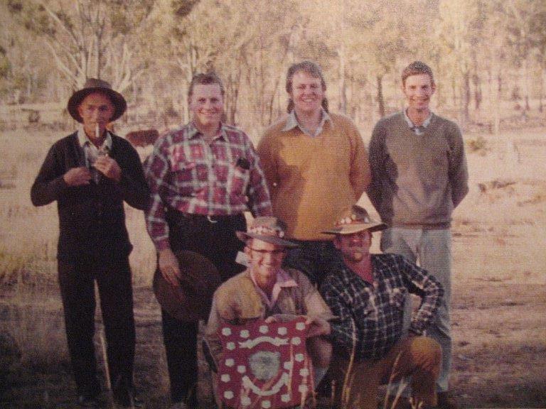 Ted Knauer, Malcom Dampier, Rob Rush, Alan Genn, Eric Nunn, Ray Green